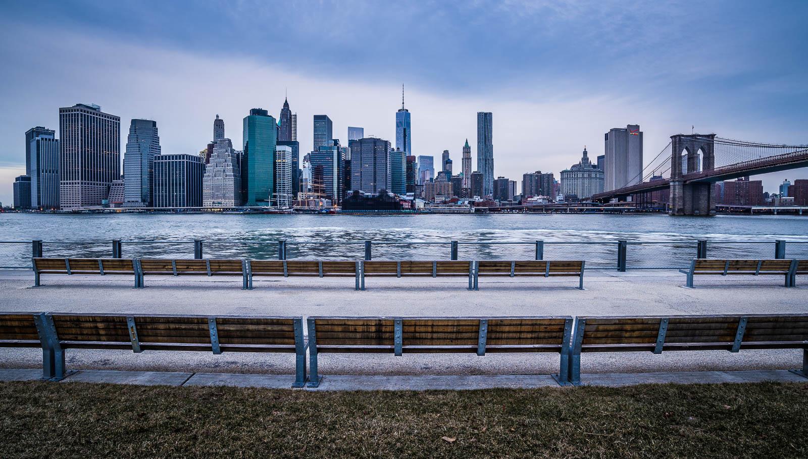 New York Brooklyn Heights Promenade