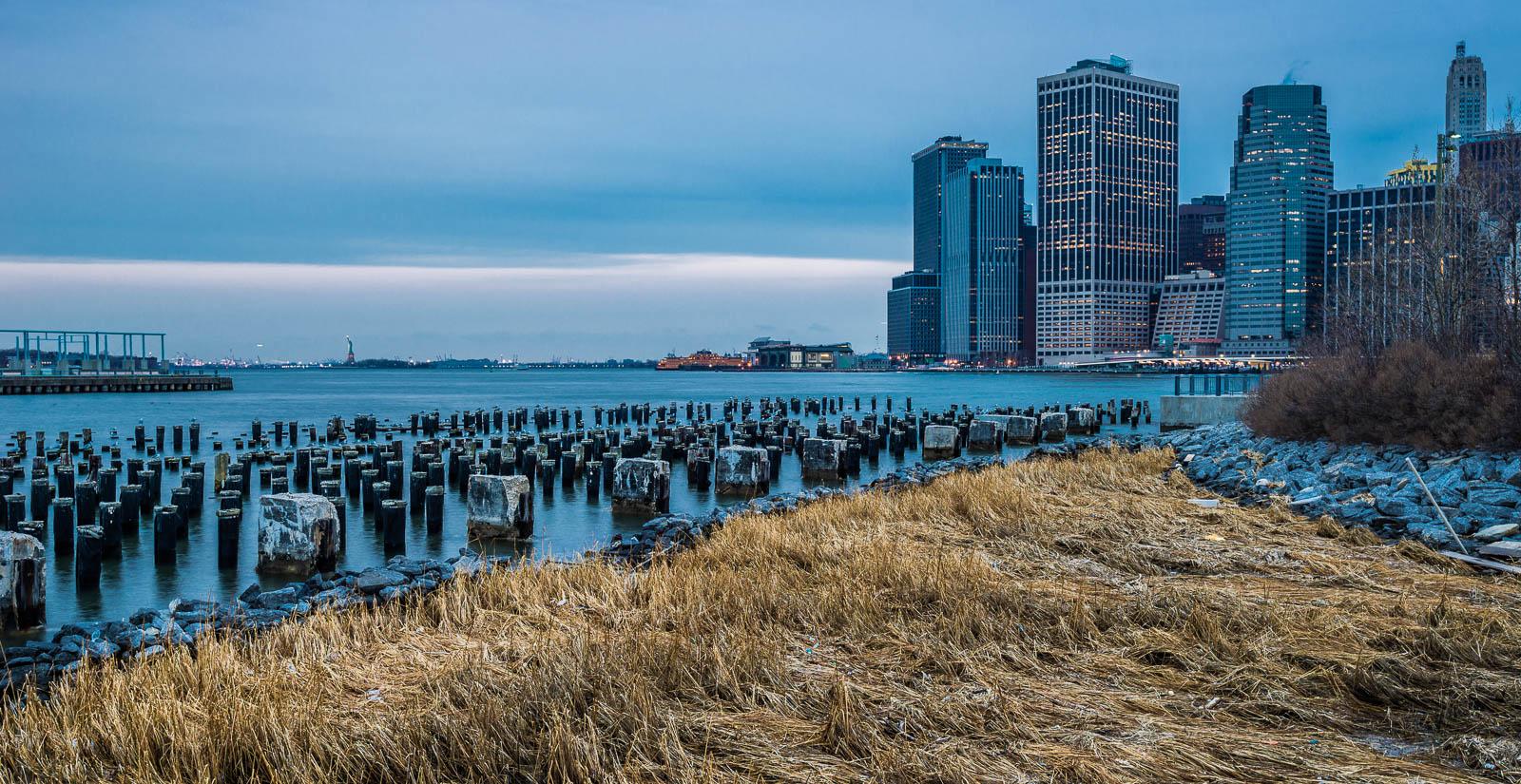 New York Brooklyn Pylons