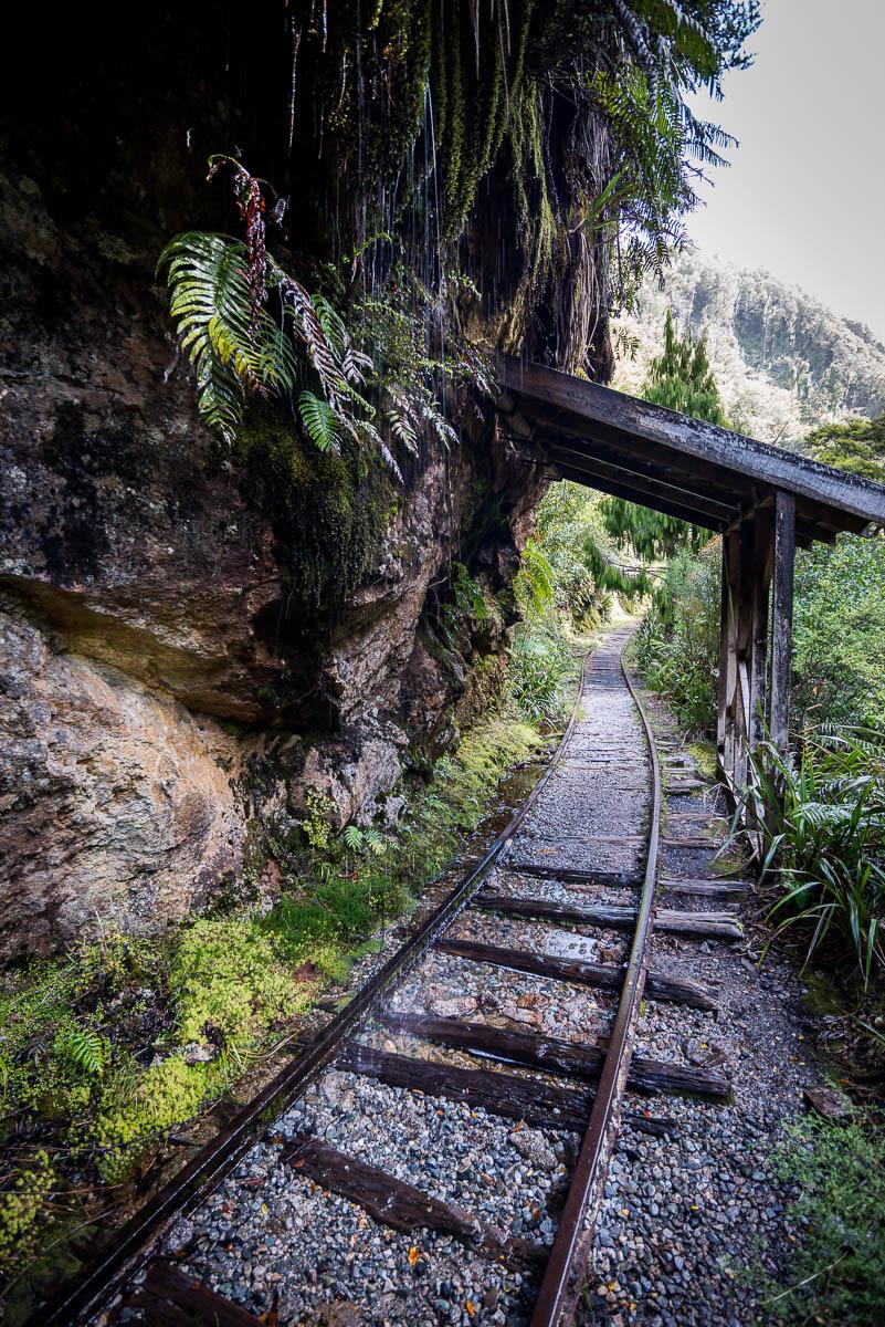 Charming Creek Walk overhang