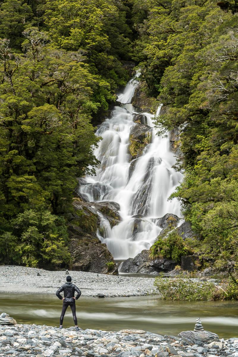 Fantail Falls Haast Pass