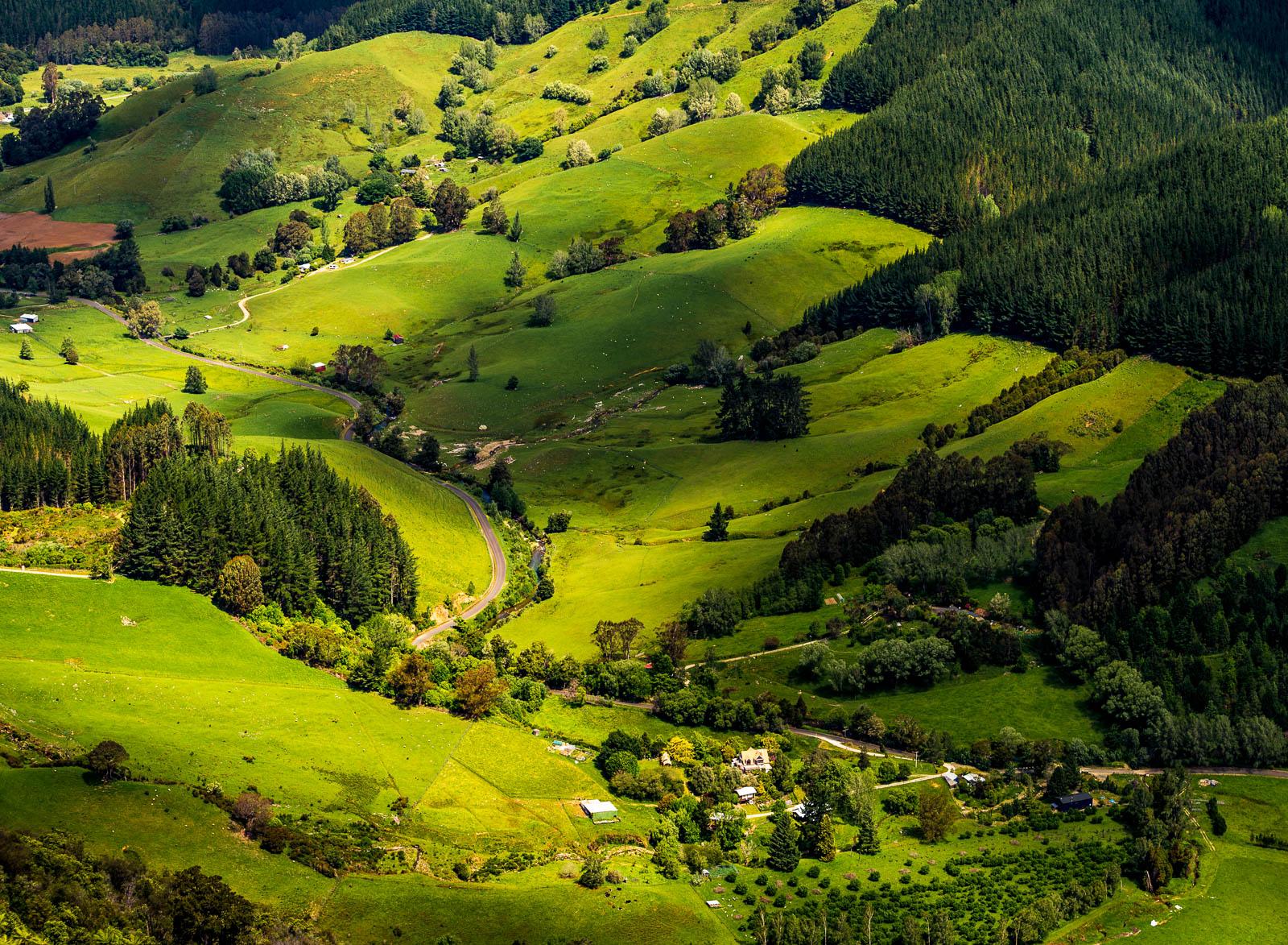 Lower Takaka Hill Valley