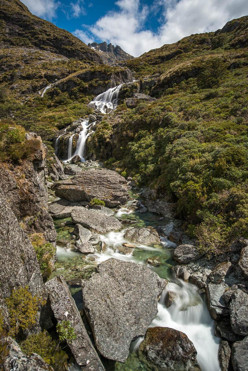 Routeburn Falls New Zealand