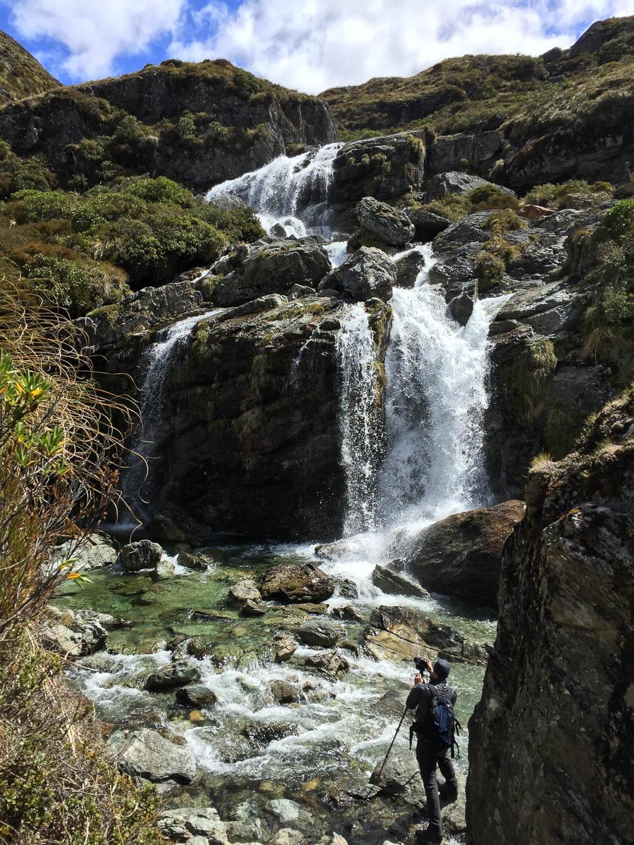 Routeburn Falls New Zealand photography